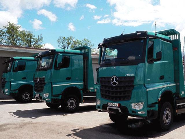 kamioni za prijevoz trupaca